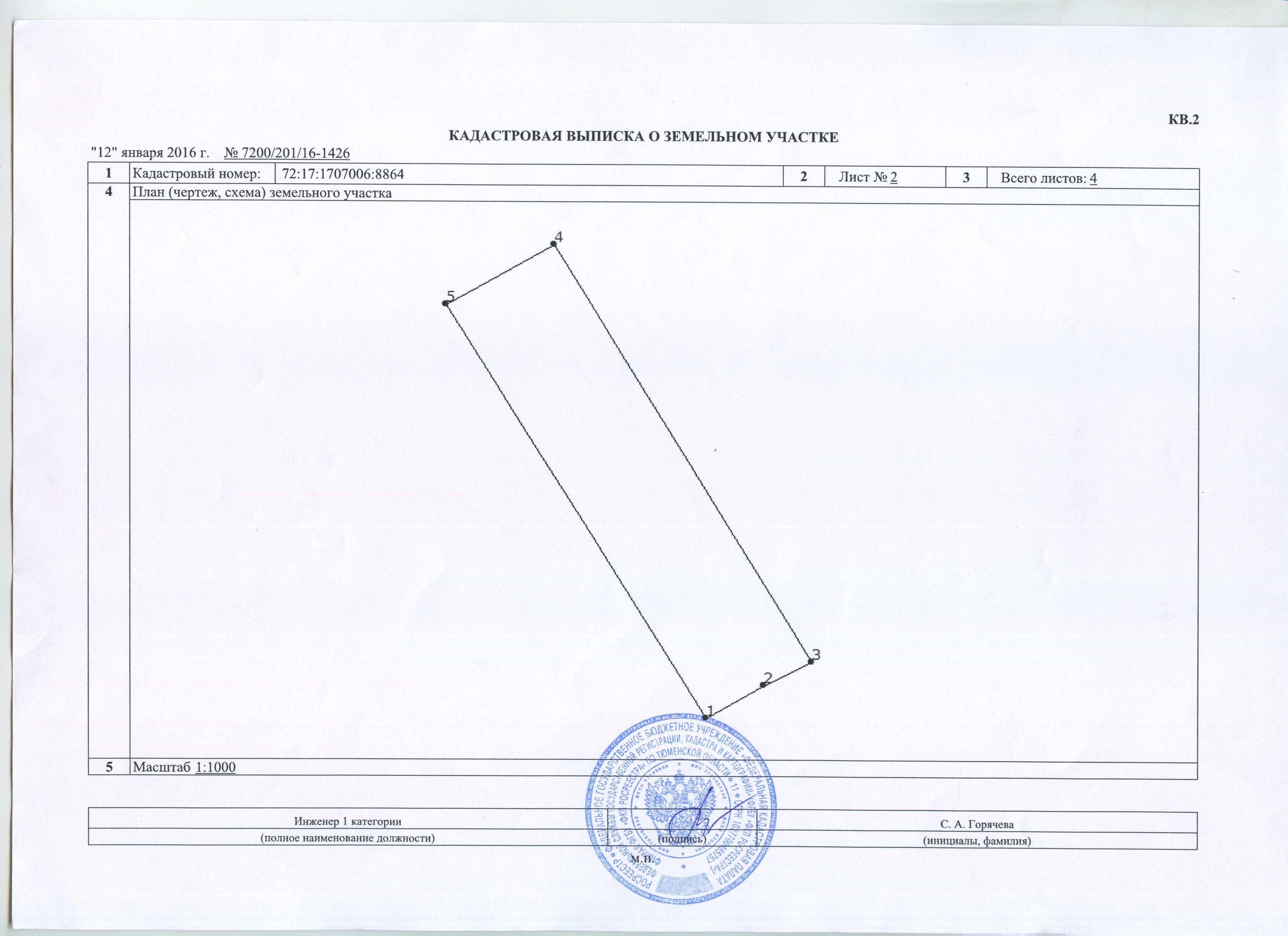 земельно кадастровая документация