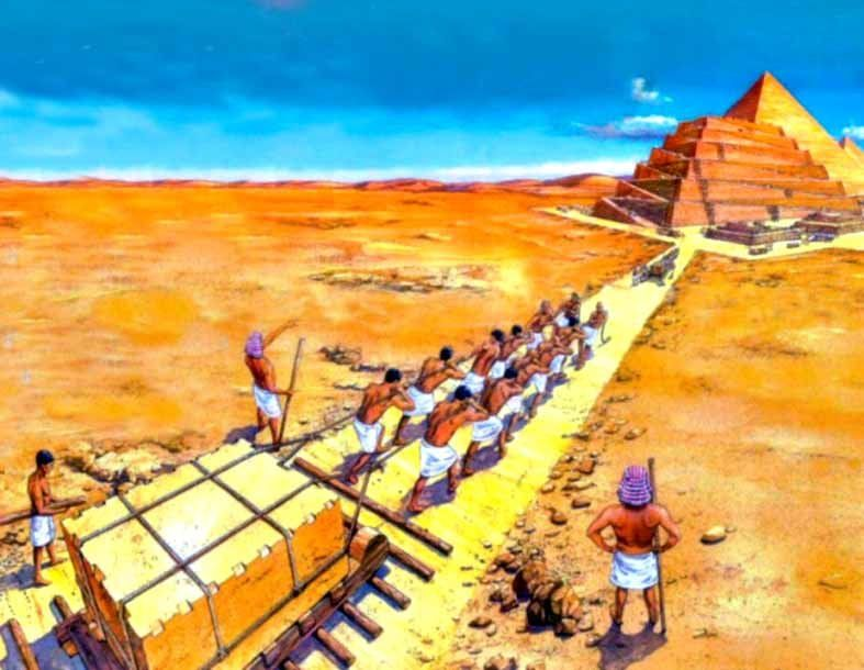 "a history of the building of the pyramids in ancient egypt Ancient egypt's maritime activities ""i really don't want to be involved in any polemics on the building of the pyramids at smithsonian smartnews history."