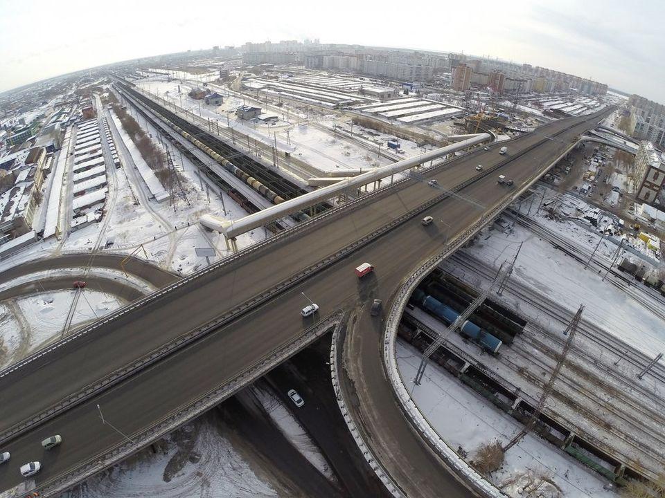 ВТюмени откроют еще три съезда наразвязке поулице Монтажников