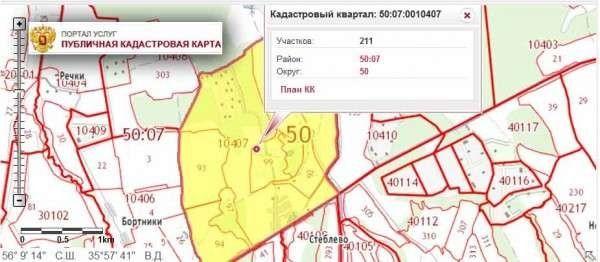 Кадастровый номер московской области Предположим