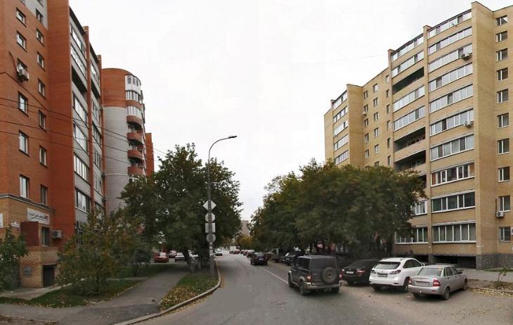 ВТюмени улицу Максима Горького частично перекрыли намесяц