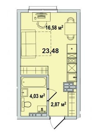 В составе ЖК «Территория 1» строятся 2 жилых дома.